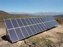 饮水项目之太阳能板